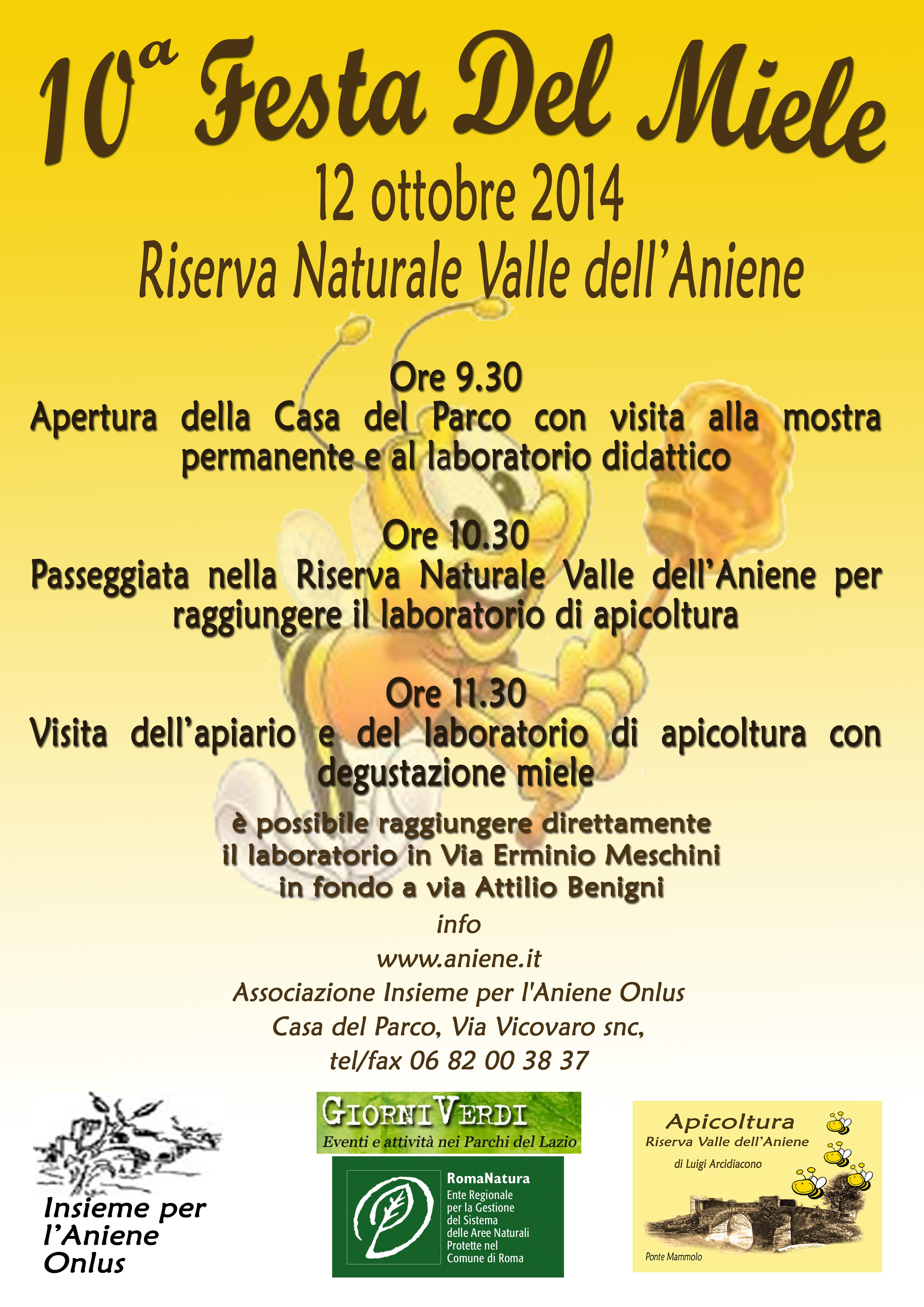 12 OTTOBRE 2014- 10° FESTA DEL MIELE