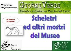 """Ludomostroteca """"Scheletri ed altri mostri del museo"""""""