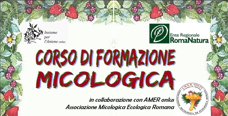 CORSO DI FORMAZIONE MICOLOGICA