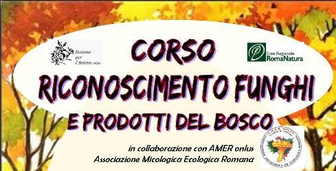 """Corso """"Riconoscimento funghi e prodotti del bosco"""""""