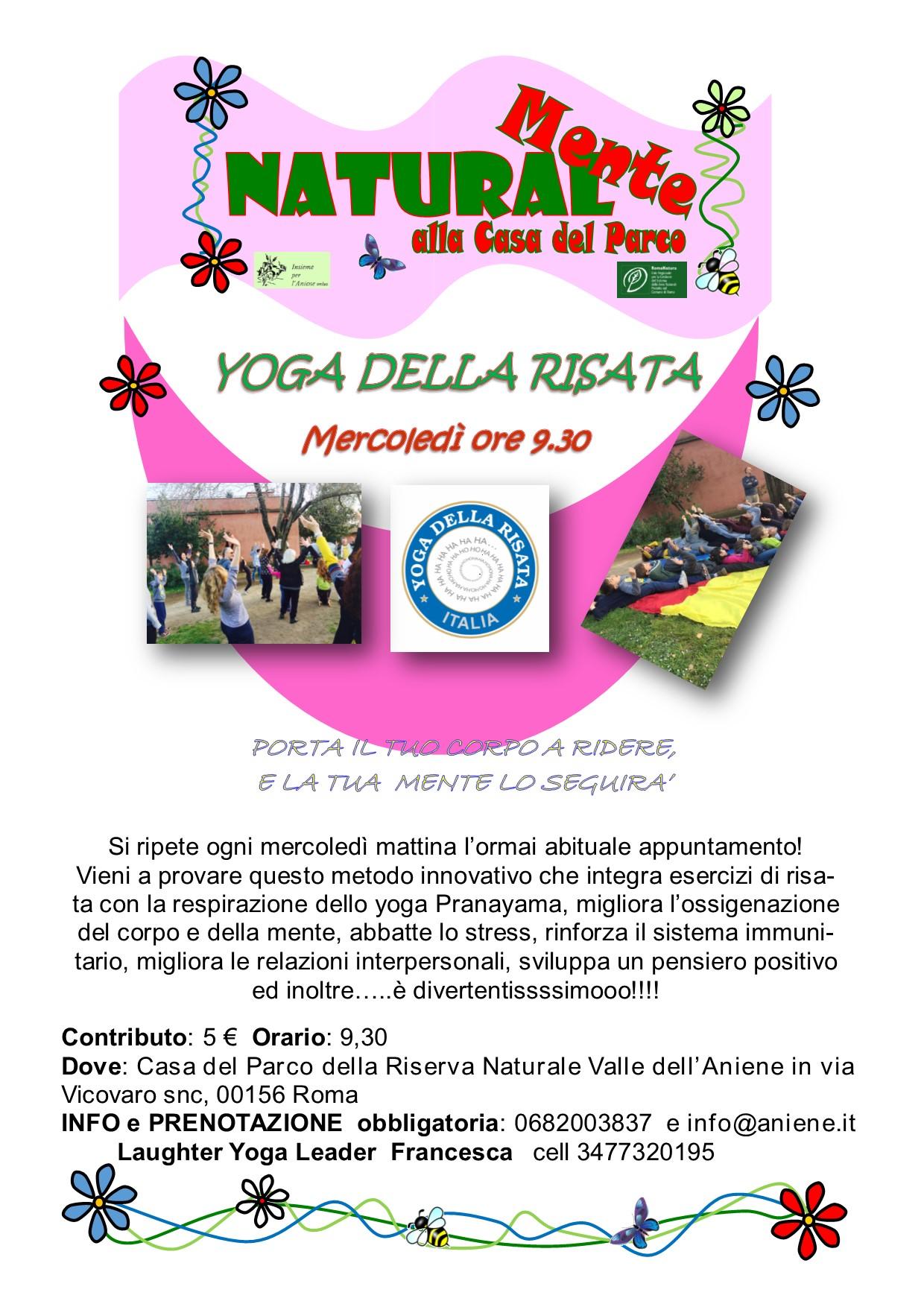 Yoga della Risata - mercoledì 26 aprile
