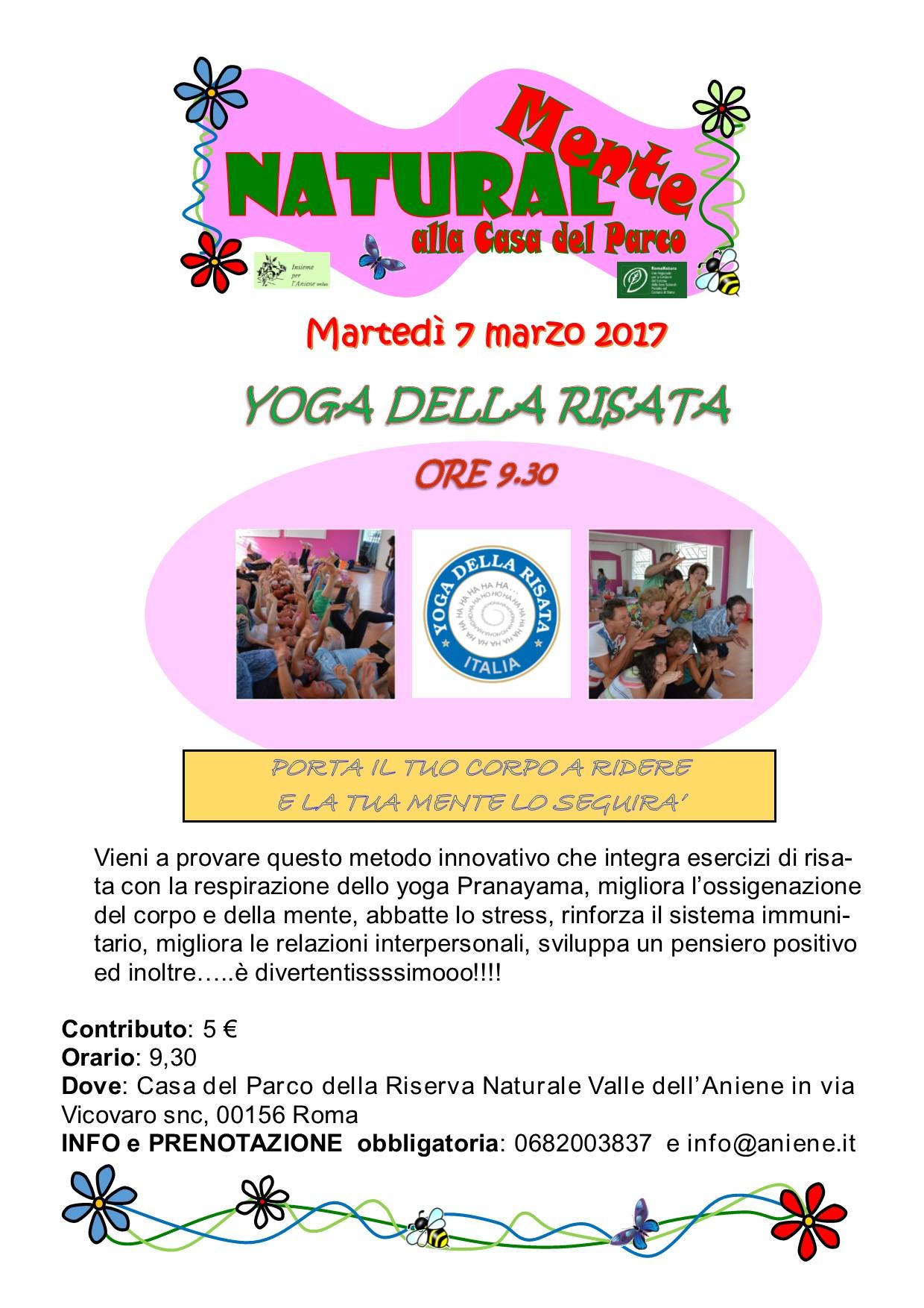 Yoga della Risata con Francesca Pieri
