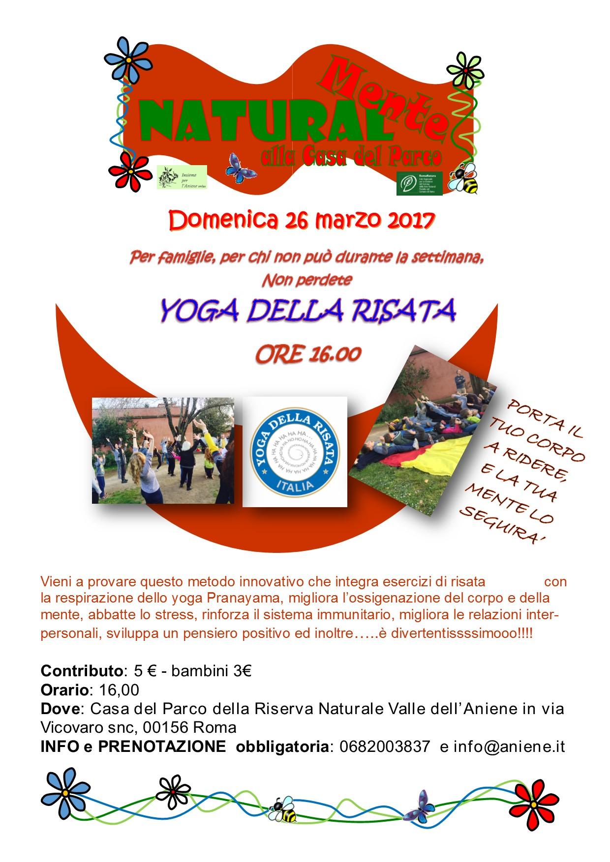 Yoga della Risata - domenica 26 marzo