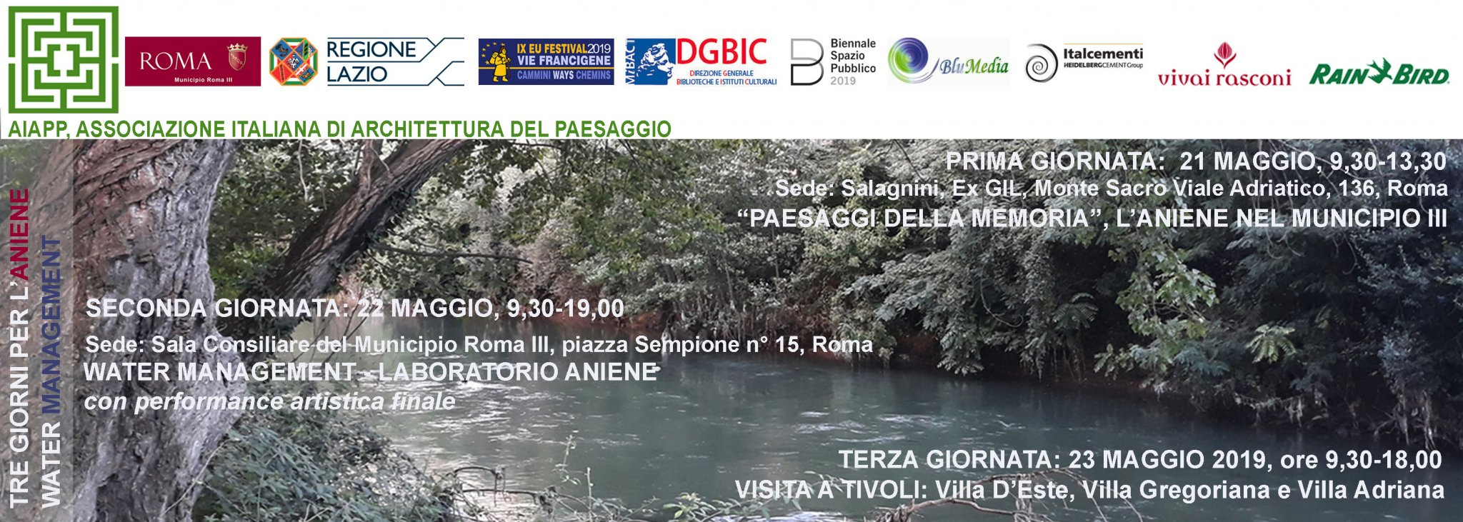 WATER MANAGEMENT - Laboratorio Aniene