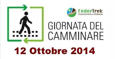 12 OTTOBRE 2014-GIORNATA DEL CAMMINARE