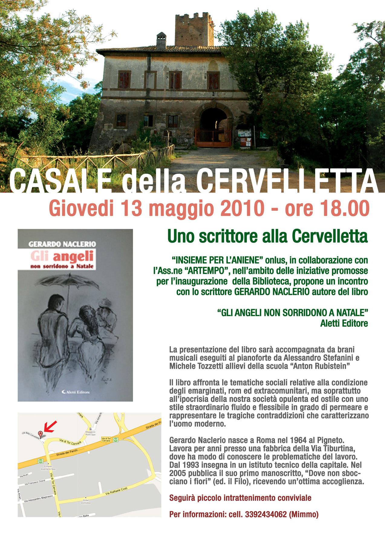 13 MAGGIO 2010 CASALE DELLA CERVELLETTA
