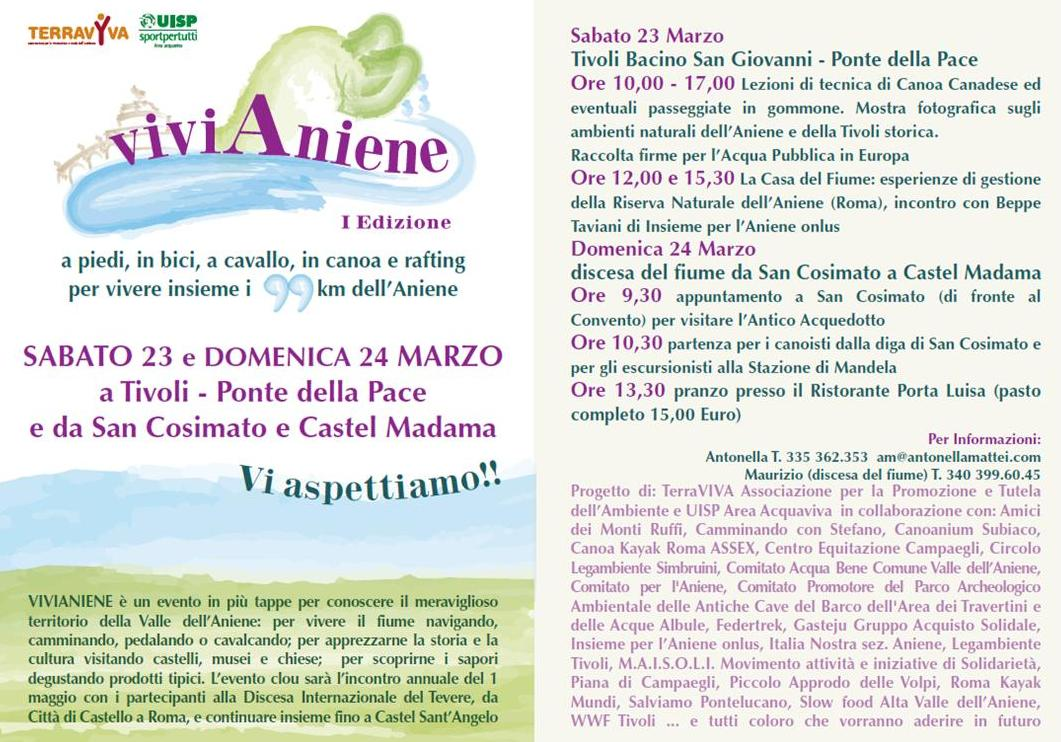 23 - 24 MARZO 2013 - VIVIANIENE -– I^ edizione -
